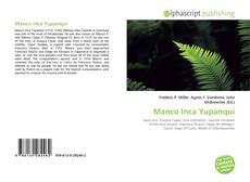Bookcover of Manco Inca Yupanqui