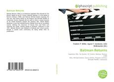 Bookcover of Batman Returns