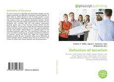 Bookcover of Definition of terrorism