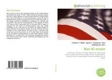 Bookcover of Ban Ki-moon