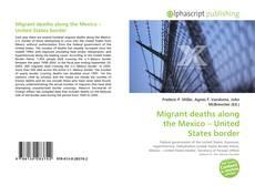 Copertina di Migrant deaths along the Mexico – United States border