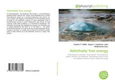 Bookcover of Helmholtz free energy