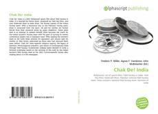 Capa do livro de Chak De! India