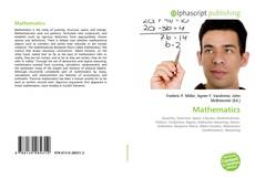 Bookcover of Mathematics