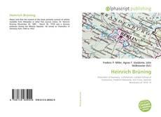Bookcover of Heinrich Brüning
