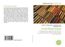 Bookcover of Ernest Mason Satow