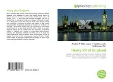 Bookcover of Henry VII of England