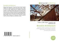Buchcover von Brutalist Architecture