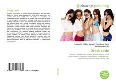 Bookcover of Dress code