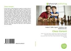Bookcover of Chess Variant