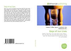 Capa do livro de Days of our Lives