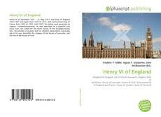 Henry VI of England kitap kapağı