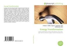 Energy Transformation的封面