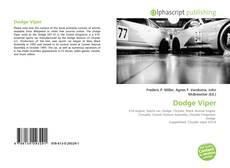 Bookcover of Dodge Viper