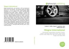 Portada del libro de Magna International