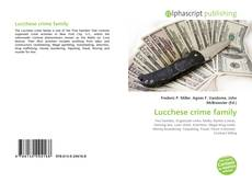 Bookcover of Lucchese crime family