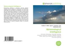 Bookcover of Meteorological Intelligence