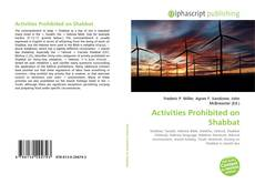 Bookcover of Activities Prohibited on Shabbat