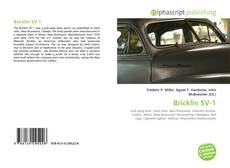 Bookcover of Bricklin SV-1