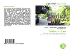 Bookcover of Factions of Halo