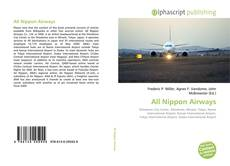 Bookcover of All Nippon Airways