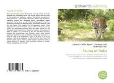 Обложка Fauna of India
