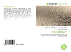Bookcover of Gilles Deleuze