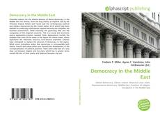 Bookcover of Democracy in the Middle East