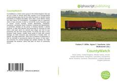 Bookcover of CountyWatch