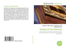 Bookcover of Gospel of the Hebrews