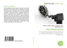 Borítókép a  Film Preservation - hoz