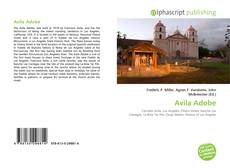 Capa do livro de Avila Adobe