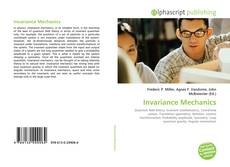 Bookcover of Invariance Mechanics