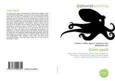 Giant squid kitap kapağı