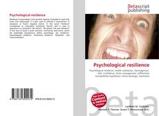 Buchcover von Psychological resilience