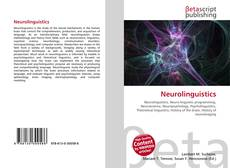 Couverture de Neurolinguistics