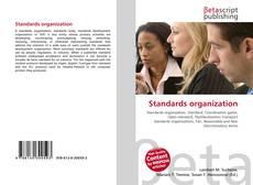 Bookcover of Standards organization