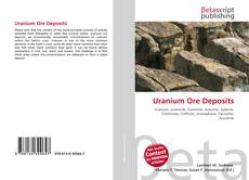 Bookcover of Uranium Ore Deposits