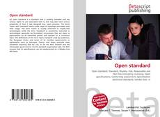 Bookcover of Open standard