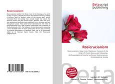 Capa do livro de Rosicrucianism