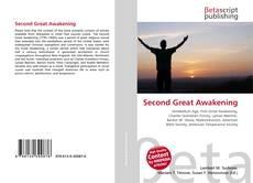 Capa do livro de Second Great Awakening