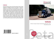 Couverture de Vehicle