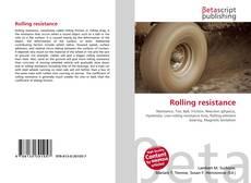 Couverture de Rolling resistance