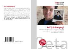 Couverture de Self (philosophy)