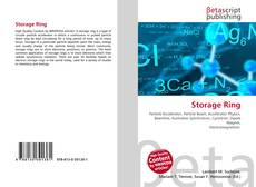 Bookcover of Storage Ring