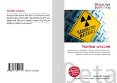 Nuclear weapon的封面