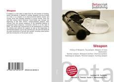 Capa do livro de Weapon