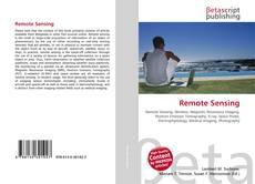 Bookcover of Remote Sensing