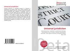 Bookcover of Universal jurisdiction
