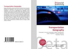 Обложка Transportation Geography